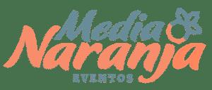 Logo Media Naranja Eventos - Color