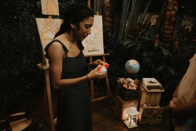 Joelia recibe el anillo